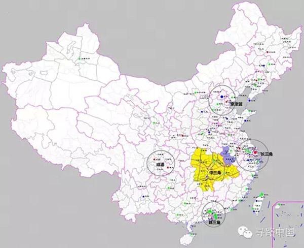 中三角:长江中游的城市暗战