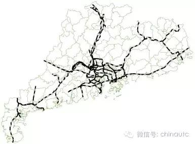 广东省长途汽车班线 广东省综合交通模型交通网络