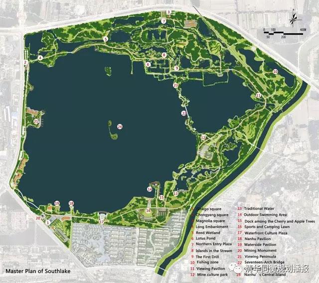 【借鉴】同衡佳作 | 从采煤塌陷区到城市湿地公园——淮北南湖公园